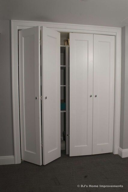 folding closet doors shaker style bi fold closet doors my world 13167