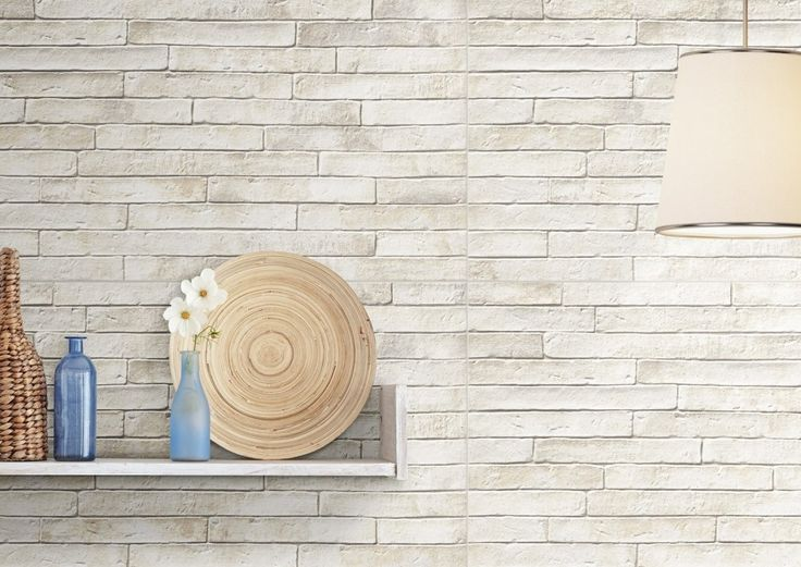 London is a natural brick effect large format tile with a matt finish. Available in two colours, red and white. The tile has a textured finish that replicates the appearance of a traditional brick wall