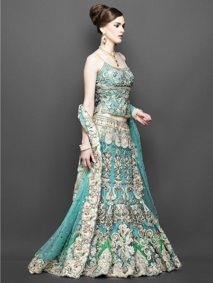 Wedding Dress Color Green : Top wedding lehengas how to be the perfect bridesmaid