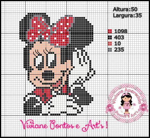 Viviane Pontos e Art's: Gráficos da Minnie
