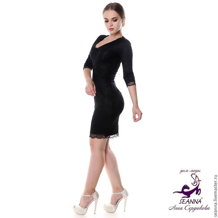 """Купить Эффектное кружевное эластичное платье с утяжкой """"Кружевная Стройняшка"""" - коктйельное платье, платье коктейльное"""
