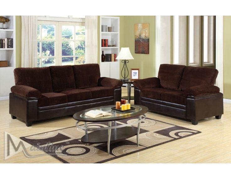 Apartment Size Furniture Broadway Sofa Set, Sofa/LoveseatSofa sets | Sofa sets | Pinterest ...