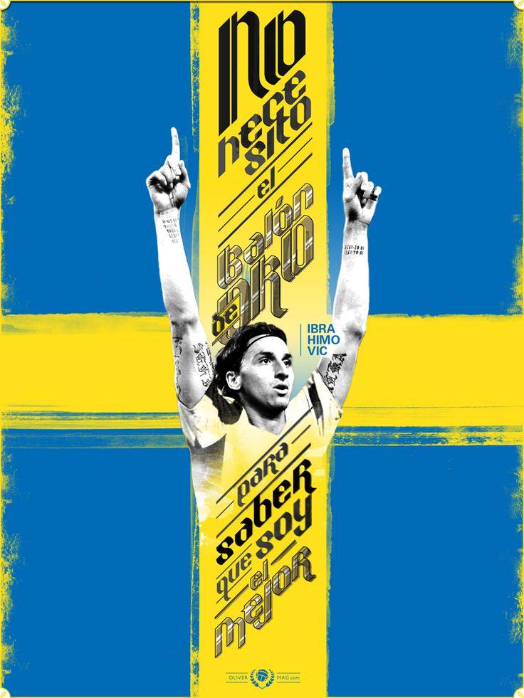 """I don't need Ballon d'Or to know I'm the best"". #ZlatanIbrahimovic #Ibrahimovic #Sweden #Suecia #PSG #Football #Futbol #Soccer  http://olivermag.com/zlatan-ibrahimovic/"
