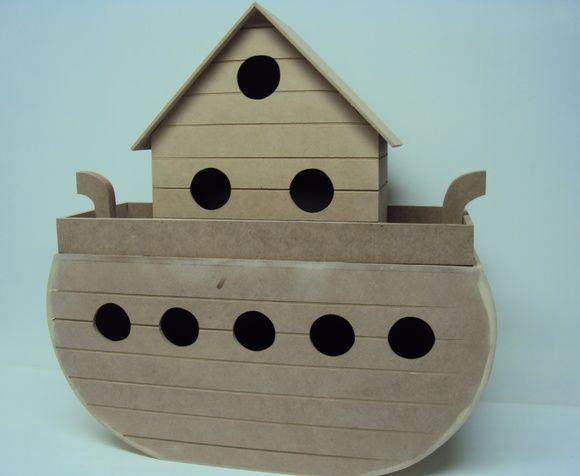 Arca de Noé decoração quarto bebe