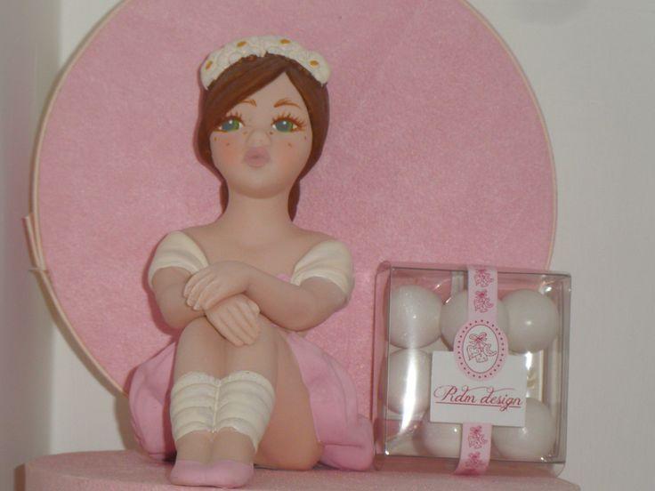ballerina in ceramica di capodimonte