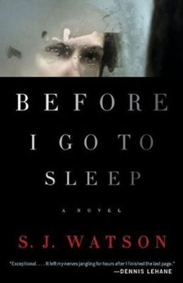 Before I Go To Sleep by S. J. Watson A fun psychological thriller reviewed at http://mysterysequels.com/5-popular-psychological-thriller-books-worth-reading.html