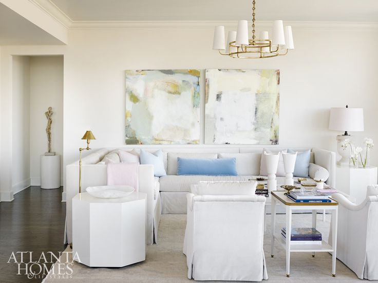 Soft Sophistication Rules In This Urban Aerie By Melanie Turner Interiors.