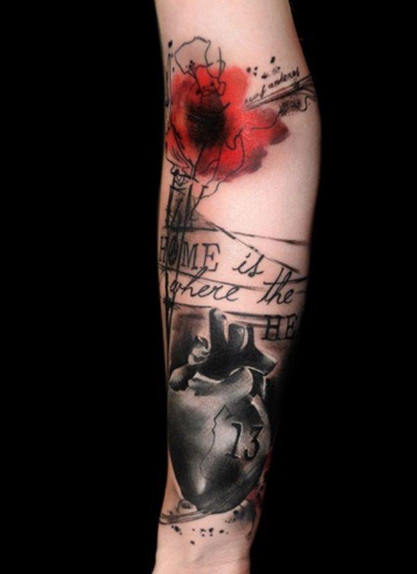 Flowers Tattoo By Klaim Street Tattoo: 33 Best Klaim. Images On Pinterest