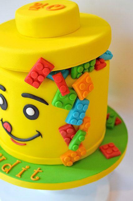 Pastel de Lego