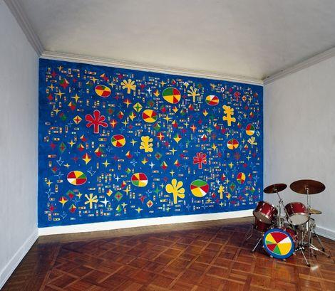 Nicola De Maria, Kingdom of musical flowers. Bomb-free universe (2004 - 2004) on ArtStack #nicola-de-maria #art