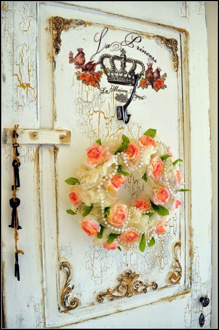 my shabby white home: Staré dvere