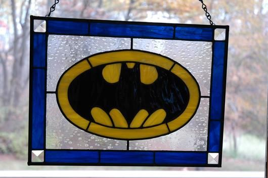Batman - Delphi Stained Glass
