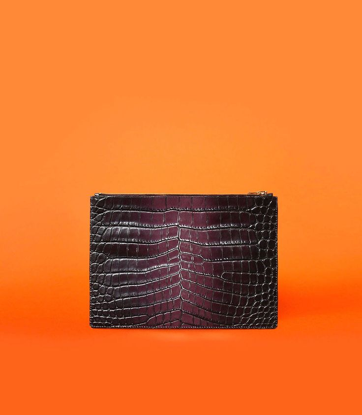 Otenberg croco leather pouch ss2017 #otenberg #bags