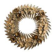 Image of Gold Metal Wreath