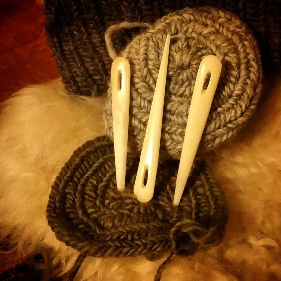 Bone Nalbinding Needle, made and for sale by WarmHearthCreations @ Etsy. Please see link!