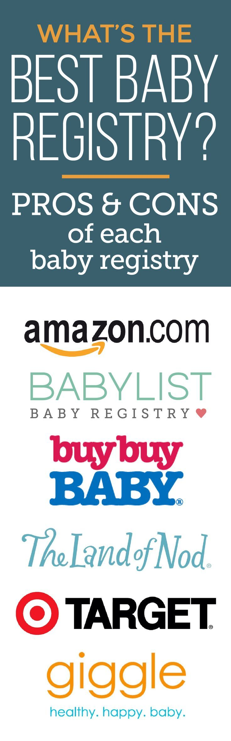 ...because how else are you supposed to figure out the best baby registry for you?