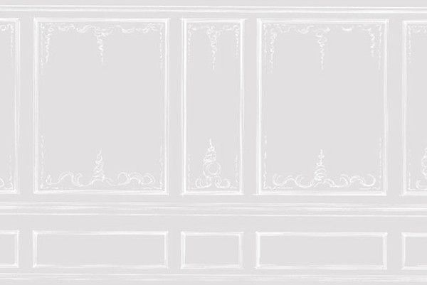 Boiserie wallpaper boiserie pinterest papiers peints for Carta da parati finta boiserie