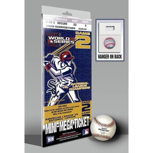 2005 World Series Mini-Mega Ticket - Chicago White Sox