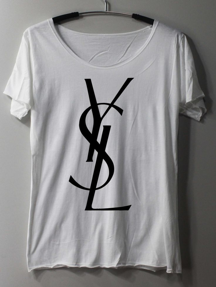 Yves Saint Laurent YSL Shirt TShirt T Shirt Tee by ThinkingGallery, $16.00