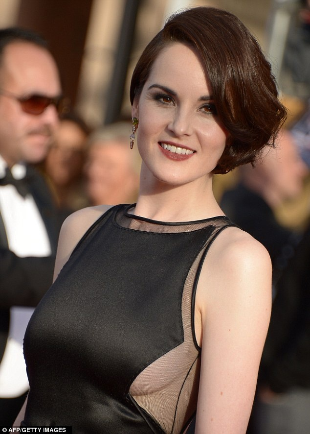 Downton Abbey star - Michelle Dockery
