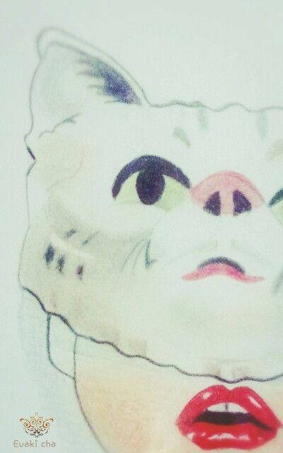 Drawing by Evaki cha