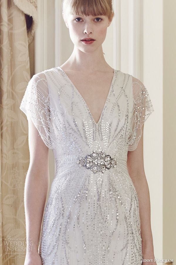 Jenny packham 2014 wedding dresses elegant wedding dress for Jenny beckman wedding dresses