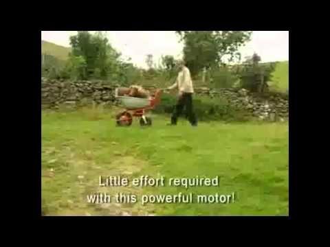 Electric wheelbarrow. Sherpa electric wheelbarrows for moving soil, weeds, grass, garden debris, manure and more around the garden. Electric wheelbarrows for gardeners.  For more info: http://www.fresh-group.com/electric-wheelbarrow.html