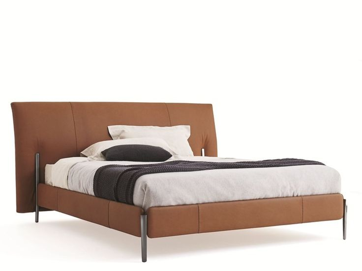 Double Bed With Upholstered Headboard Nick Bed Molteni