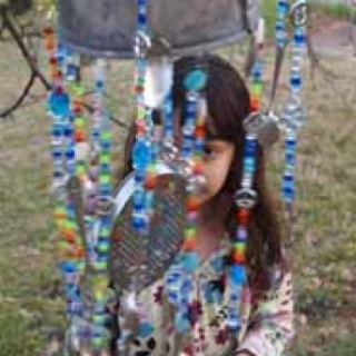 Class auction project: wind chime