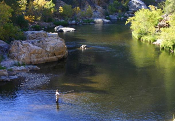 Kern River. Love to go there.