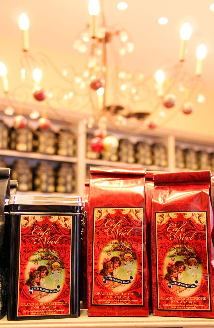 Café de Noël Cafés Jeanne d'Arc Orléans. Miss the Songe d ete tea so much!!!