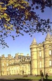Palace of Holyrood House, Edinburgh in Scotland, UK