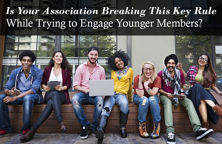 If you've got a problem retaining younger members at your association, Amanda Kaizer has some great advice - turns out you might be breaking what she calls The Halfway Rule
