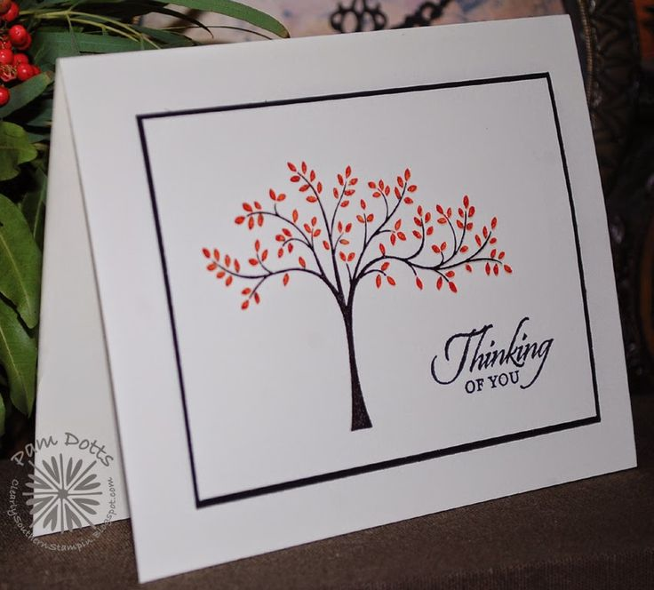 Clearly Southern Stampin': PPA223 - Thinking of You Thoughts and ...