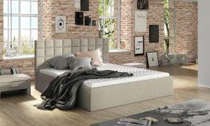 Łóżko 81231 tapicerowane M&K Foam Koło Fabryka Sypialni