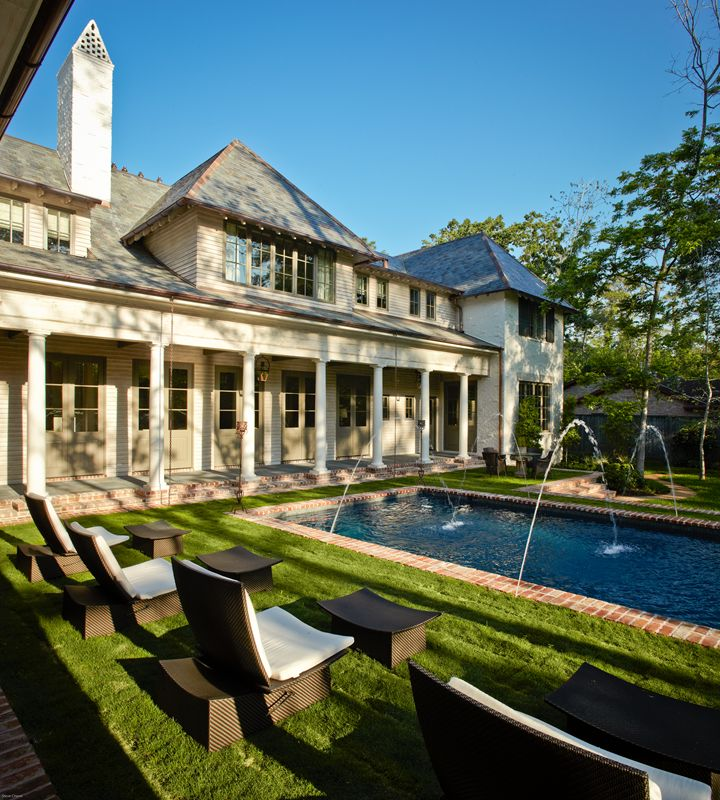 Southern Acadian House by Thompson Custom Homes
