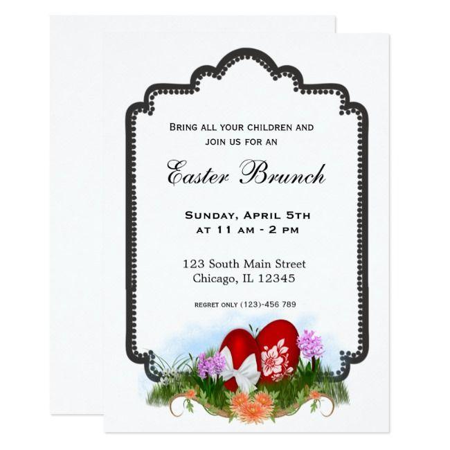 Create Your Own Invitation Zazzle Com Easter Brunch Invitations Create Your Own Invitations Brunch Invitations