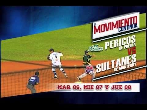 El movimiento continúa... Apoya a los Sultanes de Monterrey en la serie contra los Pericos de Puebla, este martes 6, miércoles 7 y jueves 8 de Mayo en punto de las 7 de la noche.  El Palacio Sultán te espera!! Vive las emociones del partido entre los Sultanes de Monterrey enfrentando a los Pericos de Puebla. Fiesta, pasión, emoción, esto es el Movimiento Sultán!! VÍVELO Boletos disponibles en el sistema Ticketmaster