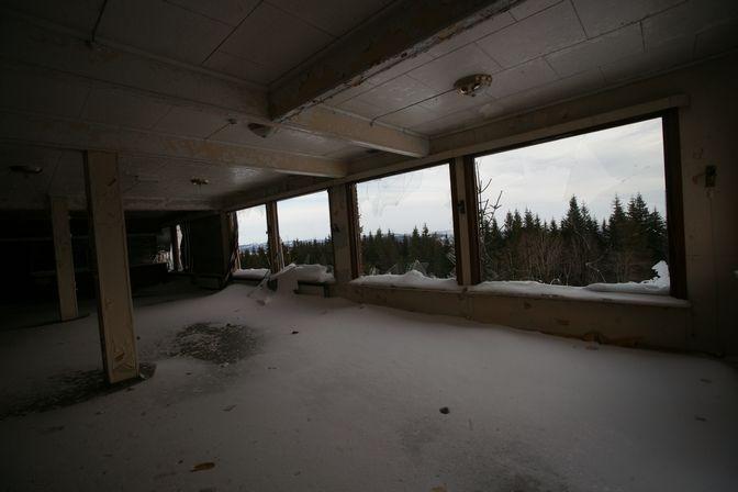 Övergivna platser - Bislingens Fjellstue NORGE
