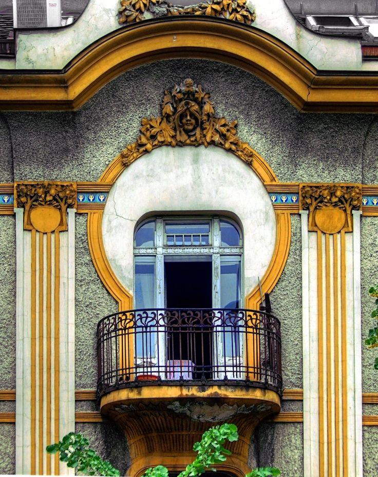 Art Nouveau and Art Deco, decoarchitecture: Facade, Belgrade, Serbia