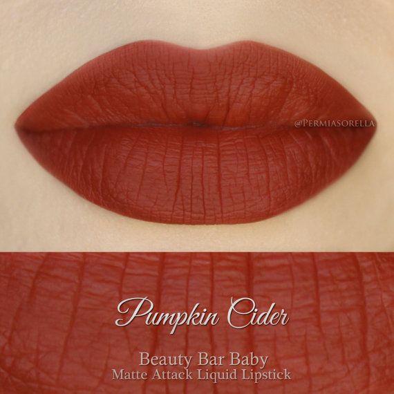 Liquid Lipstick Pumpkin Cider Matte Attack Liquid by BeautyBarBaby