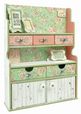 One of my favourite things I have created lately.  Love the range - Tea Break Collection and the gorgeous storage unit.