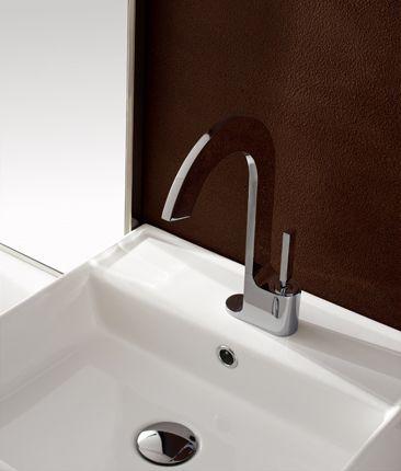ce robinet mitigeur lavabo poser en laiton chrom de la collection de robinetterie de salle. Black Bedroom Furniture Sets. Home Design Ideas
