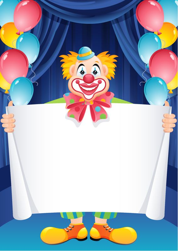 Good to announce circus activities or events.