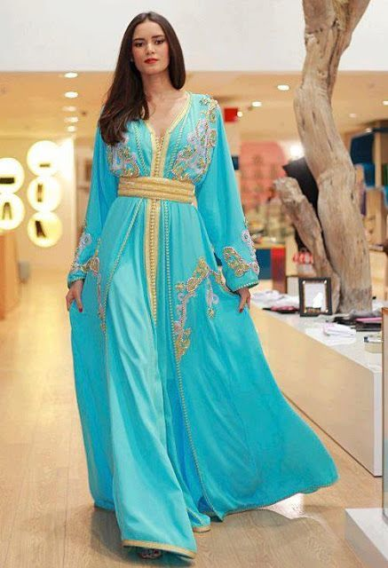 MOROCCAN FASHION - Blue Tones - #/\/\-\