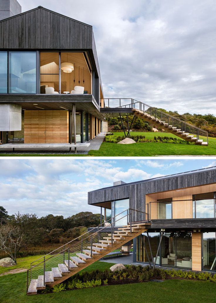 This Modern House Which Sits On 4 25 Acres Overlooks The