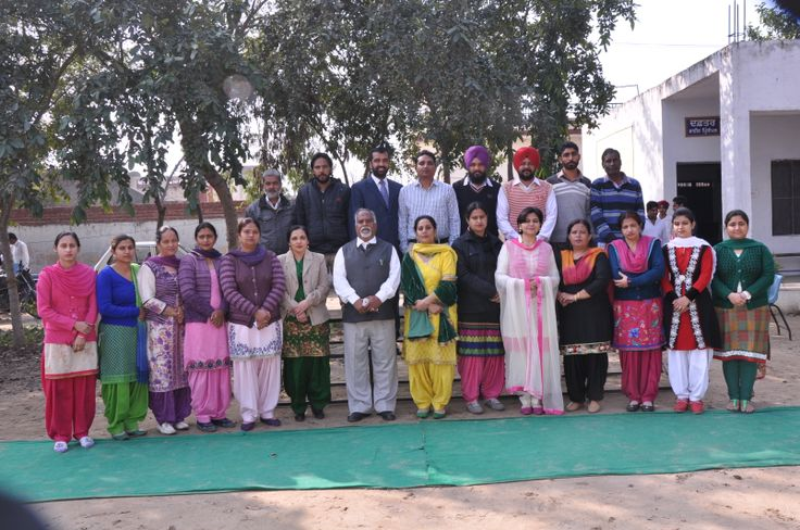 staff members of govt. sen. sec. school, shermajra, patiala, punjab, india with dr. narinder kumar, punjabi lect. gsss shermajra.