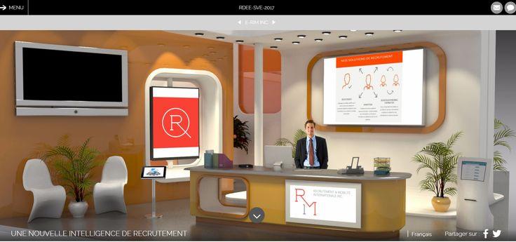 Le salon virtuel est une solution intelligente et un must dans les activités de recrutement d'aujourd'hui. http://www.e-rim.ca/