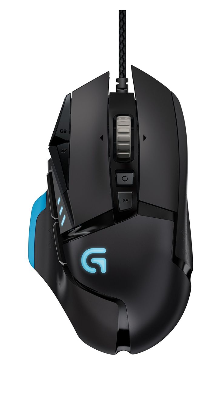 Logitech 910-004076 G502 Proteus Core Tunable Gaming Mouse, colore: Nero/Antracite