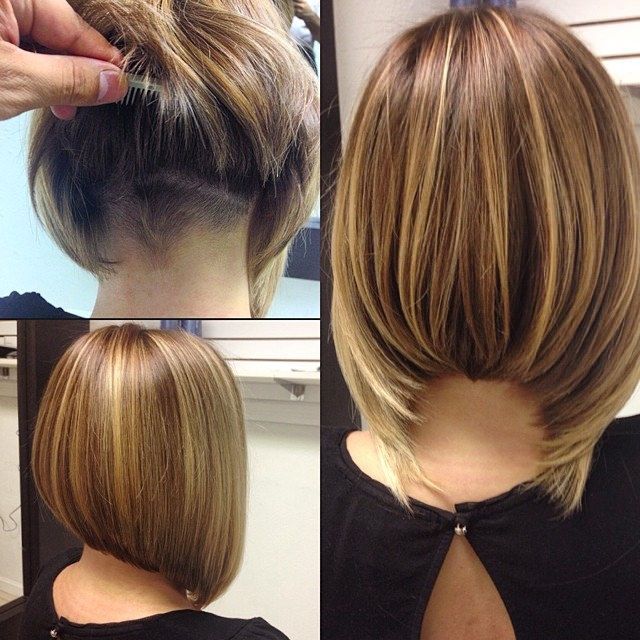 344 Best Images About Hairstyles On Pinterest Aline Bob